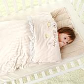 春秋冬季纯棉婴儿睡袋新生儿加厚款宝宝婴幼儿小孩防踢被儿童被子
