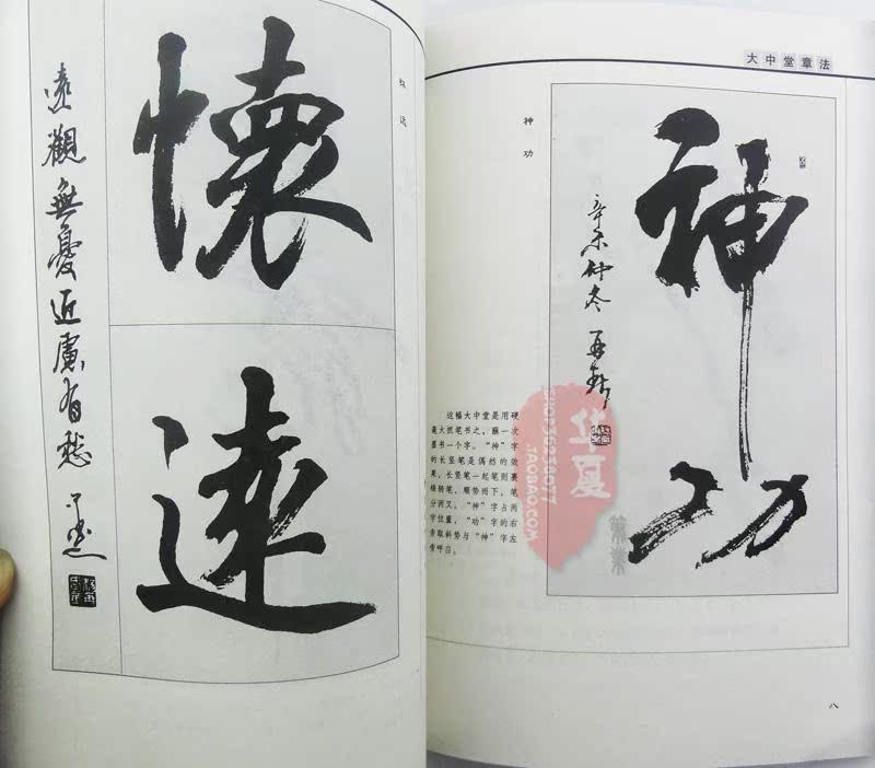 行草章法 毛笔字帖 杨再春著 中堂唐诗词句作品书法毛笔行书练习