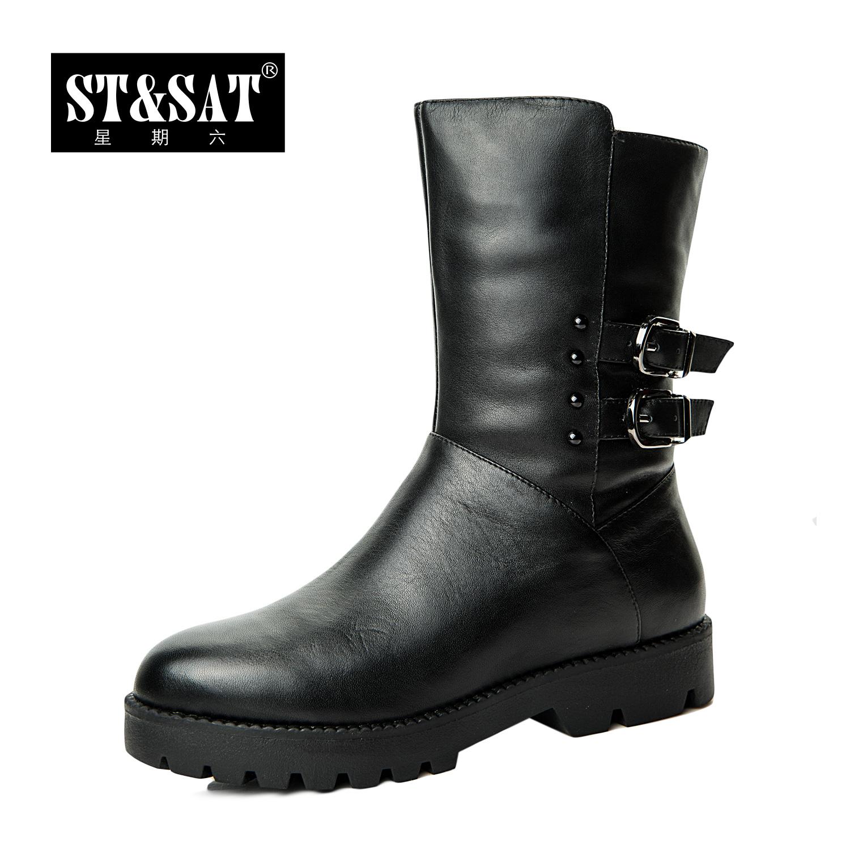 街头时尚ST&SAT星期六女靴