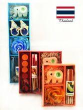 旅游纪念品送人伴手礼物手工艺品小礼物 泰国特色小礼品纸盒薰香装