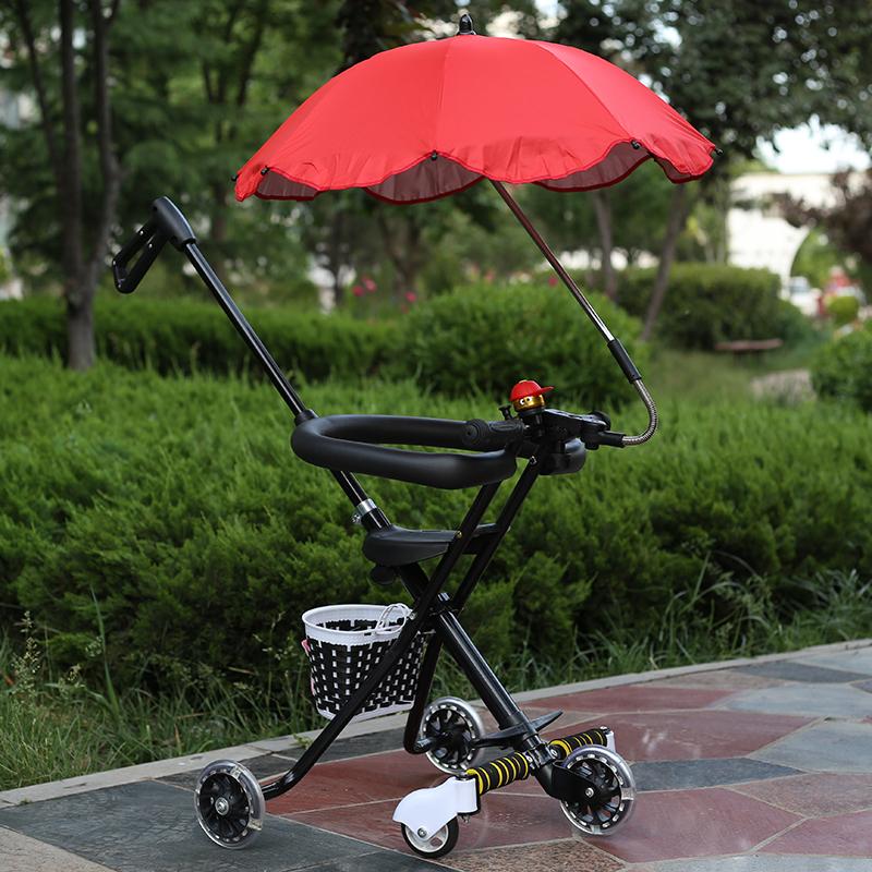 遛溜娃神器简易轻便携折叠幼儿童三轮车五轮超轻宝宝旅游手推车