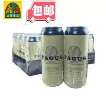 包邮 特价 进口 24听新品 泰谷TAGUS浑浊型白啤酒500ml 西班牙原装
