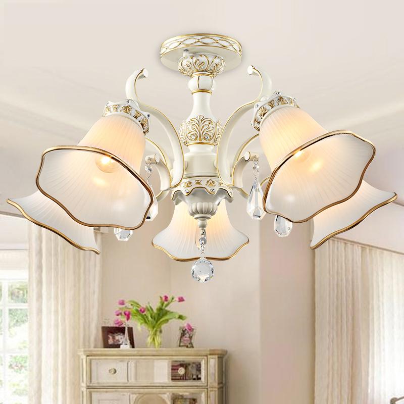 欧式吸顶灯 客厅卧室灯现代简约田园led客厅灯具灯饰