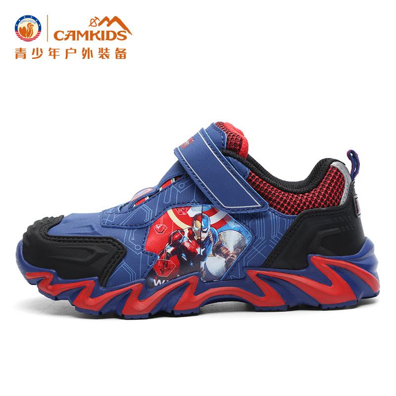 camkids小骆驼儿童运动鞋正品青少年户外登山鞋防水耐磨中大童鞋