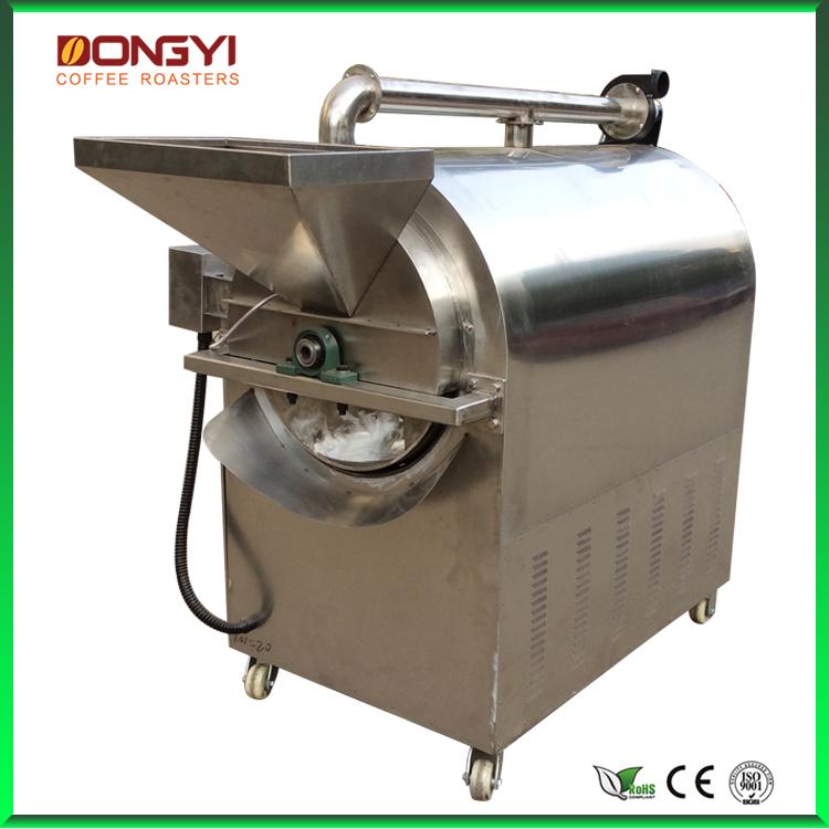 东亿100公斤小型板栗炒货机 商用 恒温电加热  炒瓜子机炒花生机