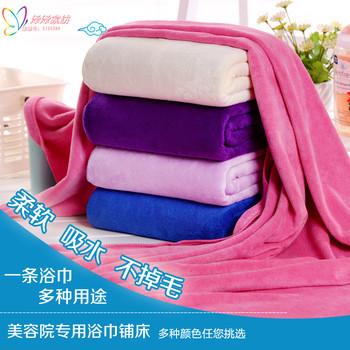 美容院加厚铺床大毛巾被浴巾酒店