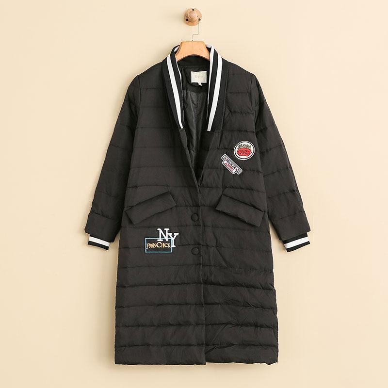 NW 女装外套特卖通勤羽绒服长款冬季保暖女士