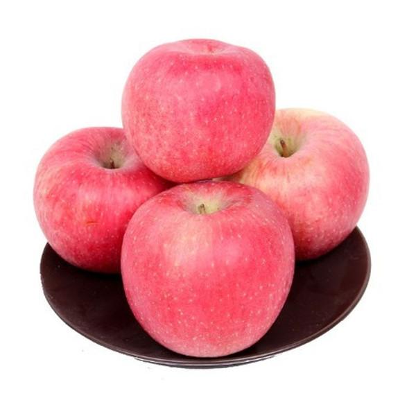 比阿克苏烟台洛川新鲜甘肃特级冰心糖红富士苹果礼盒装包邮图片