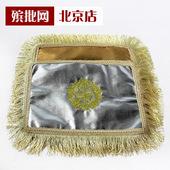 骨灰盒高档包布盖布奠字垫子地垫寿盒包铺盖刺绣金银被套铺金盖银