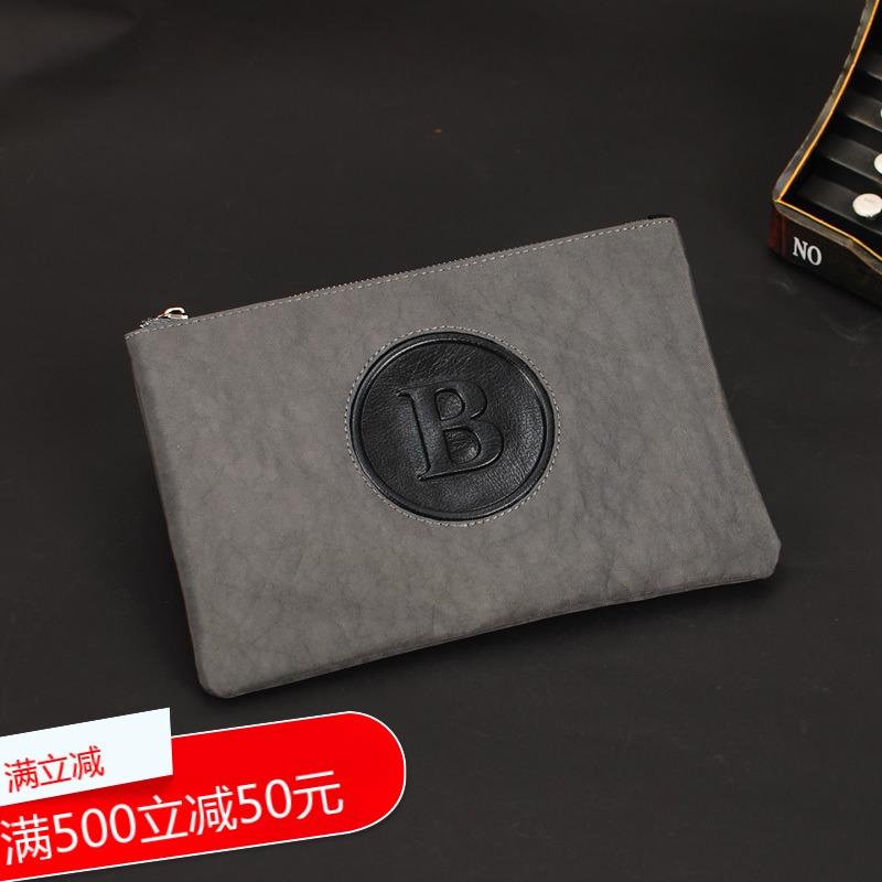 代购精品韩版男士信封男包手拿包手抓包夹包新款商务休闲手包帆布