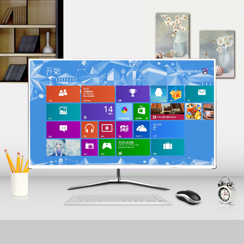 显示器32高清27英寸超薄24台式电脑19液晶屏幕游戏曲屏22全新包邮