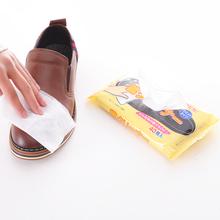 擦巾皮鞋 子去污纸 刷湿纸巾皮包清洁湿巾鞋 湿巾鞋 日本进口擦鞋
