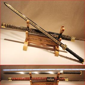 正品宝剑手工剑汉剑长剑硬剑秦剑龙泉镇宅刀剑冷兵器特价未开刃