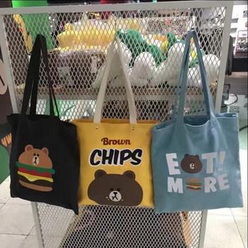 韩国代购ulzzang布朗熊汉堡薯片
