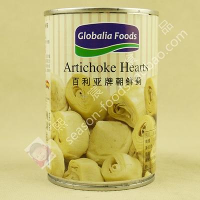 Globalia Foods Artichoke Hearts百利亚朝鲜蓟390g亚之竹心洋蓟