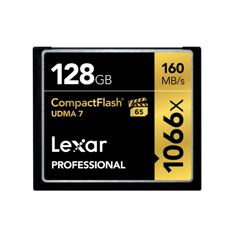 S 160M 高速存储单反相机内存卡 1066X 128G 卡 CF 雷克沙 Lexar 包顺丰