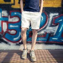 大码 休闲裤 夏季男士 男生沙滩裤 韩版 五分裤 修身 潮流运动5分短裤