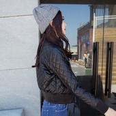 天天特价夹棉加厚短外套女学生修身显瘦韩版皮夹克机车飞行服秋冬