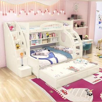 格信高低床子母床儿童上下床成人
