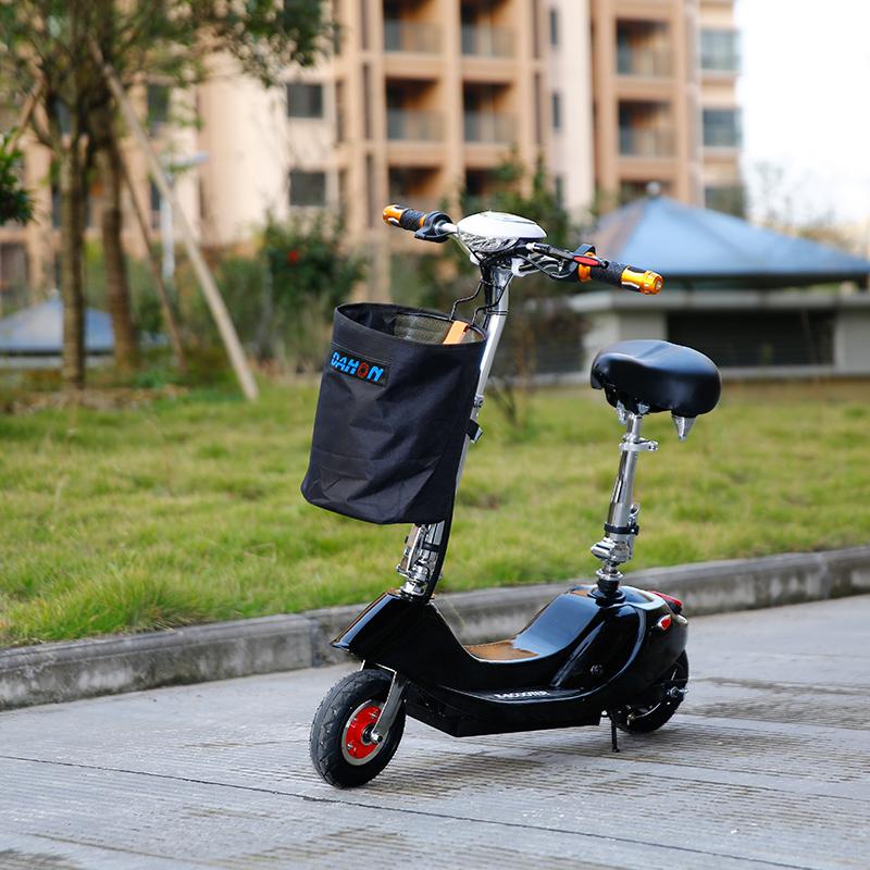 折叠电动车迷你女小型代步踏板电瓶车两轮自行车电动滑板车成人