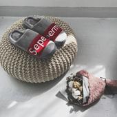 拖鞋 冬季青年男女包跟保暖室内防滑软底加绒鞋 个性 欧美潮牌棉拖鞋