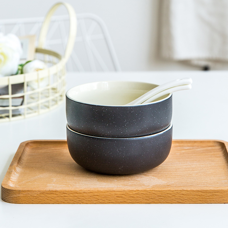 陶典碗盘套装家用碗筷套装陶瓷餐具套装简约日式创意北欧碗碟套装