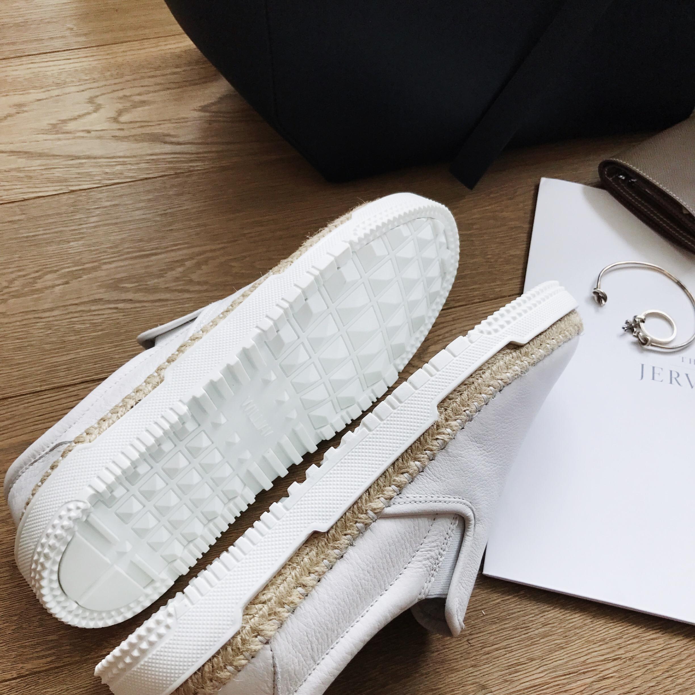 @威廉威/2017夏季新款 铆钉鞋底与编织鞋边的手工结合 真皮定制小