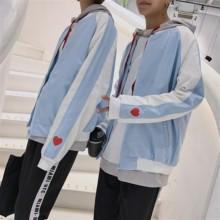 情侣装秋款2017新款韩版百搭卫衣学生班服三件套装运动会男女外套