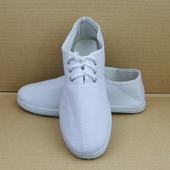 白布鞋 男女孝鞋 丧事白事用鞋 球鞋劳保鞋帆布鞋 殡葬用品