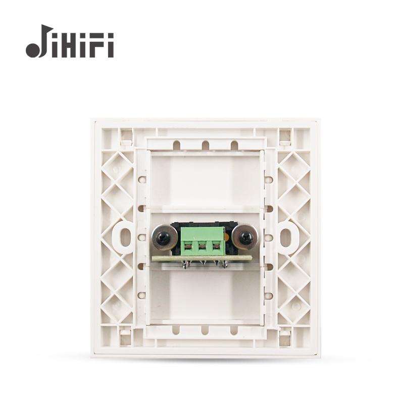 智视音源频连接电统 JiiHiF 音背景音能家庭 86 乐主机系套装配套面板