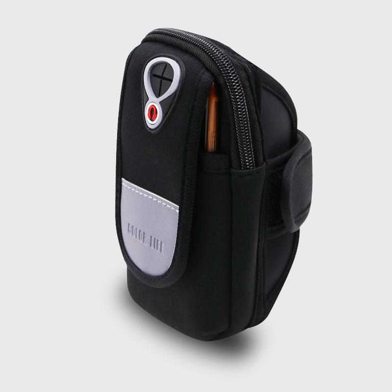 运动手腕包三星iphone6plus华为防水手臂带臂套男女跑步手机臂包