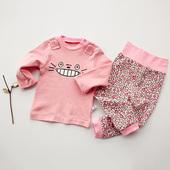 婴儿童套装纯棉男女8宝宝爬服5春秋季衣服0-1岁3个月春款外出服7