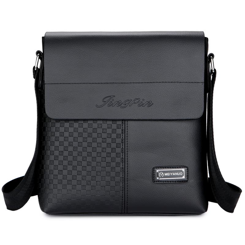 2016新款男包时尚男士单肩包斜挎包牛皮背包商务休闲包平板电脑包