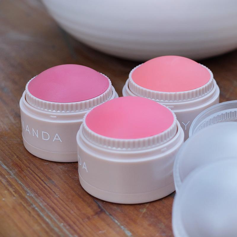 滋润丝滑多用腮红膏持久保湿胭脂祼妆自然提亮肤色膏状容易上妆