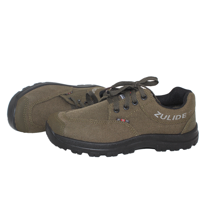男低幫軍工防滑耐磨登山鞋帆布鞋徒步戶外特賣穿刺工作輕便