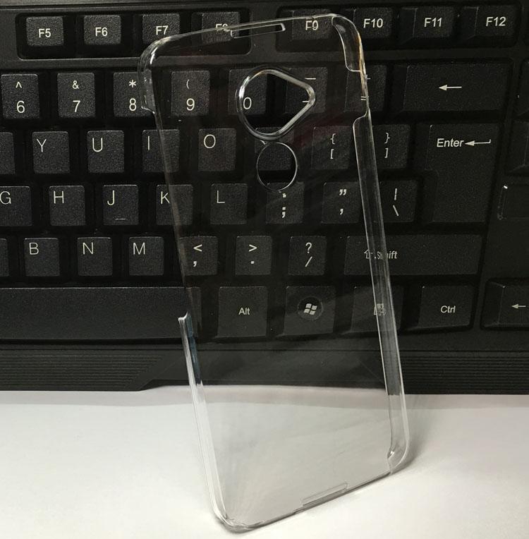 水晶壳素材壳单底硬壳保护套透明壳手机壳KEYoneDTEK60黑莓