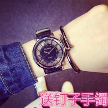 创意个性手表男表学生韩版女表复古简约时尚潮流ulzzang情侣一对