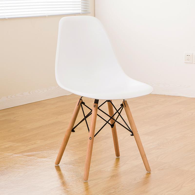 简约现代休闲接待洽谈桌椅时尚餐椅北欧时尚创意咖啡厅伊姆斯椅子