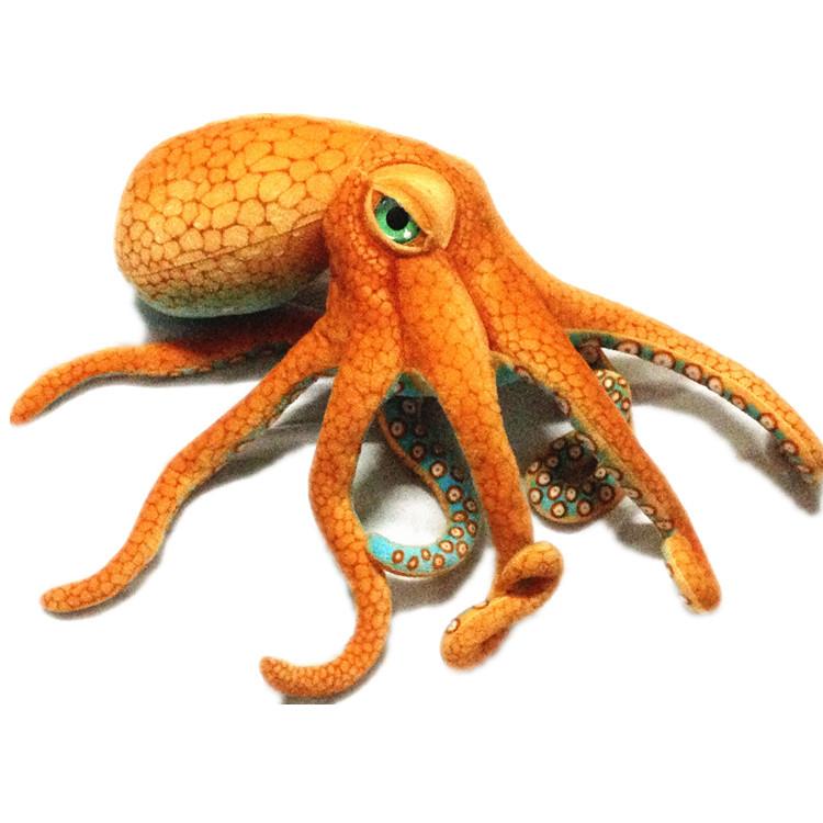 v动物大动物创意八爪鱼毛绒玩具公仔海底礼品礼物抱枕逼真章鱼玩偶点蚊子屎的药叫什么图片