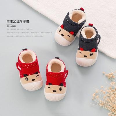 宝宝棉鞋学步鞋宝宝鞋子男0一1岁2春秋软底婴儿鞋冬机能鞋女童鞋