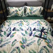 出口60支埃及长绒棉纯棉四件套 全棉贡缎裸睡1.8米床上用品 正品