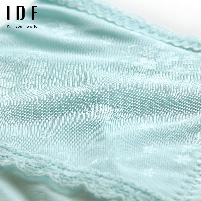 IDF女士产后收腹提臀收胯美体塑身裤舒适透气棉质面料高腰内裤女