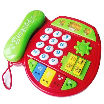 儿童启蒙音乐电话玩具手机玩具