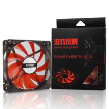 包邮 25省 14cm静音台式电脑风扇第2把10元 先马LED机箱风扇