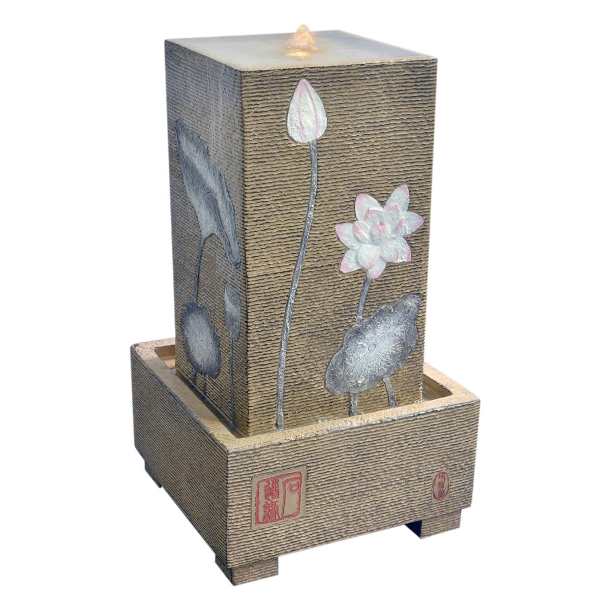流水喷泉创意大摆件工艺摆设 风水生招财落地水景办公室装饰礼品