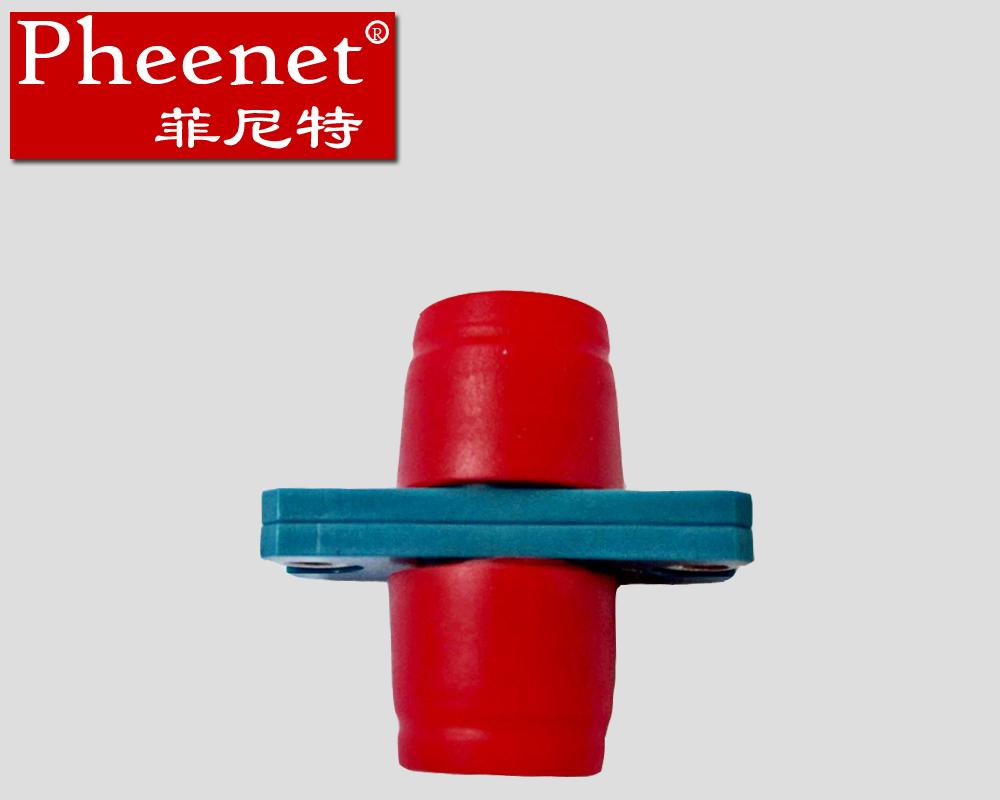 塑料单多模光纤法兰盘适配耦合连接器电信级FC菲尼特Pheenet