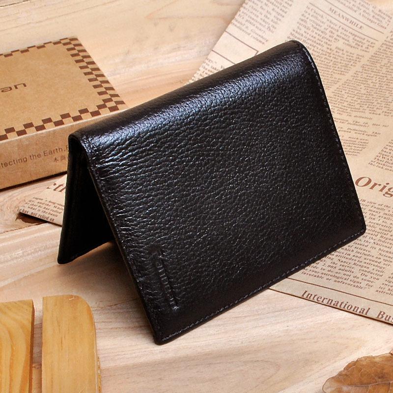 短款牛皮男士钱包 经典实用两折卡包 钱夹专柜精品 时尚大气男包
