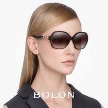 暴龙太阳镜女 玉晶质感系列高清偏光太阳镜优雅复古墨镜 BL2213图片