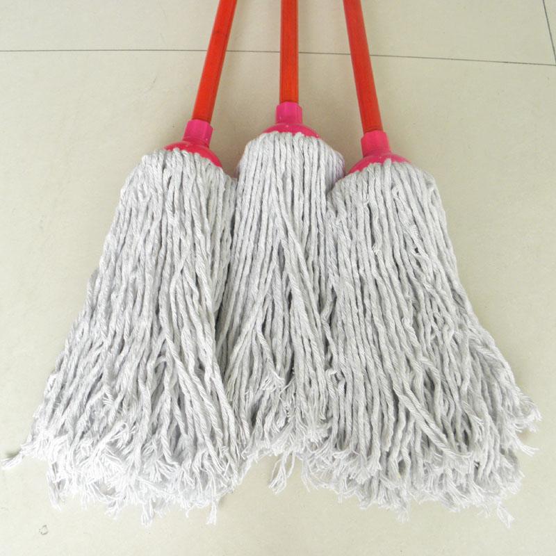 工厂物业家庭专用吸水墩布纯棉线拖把包邮量大从