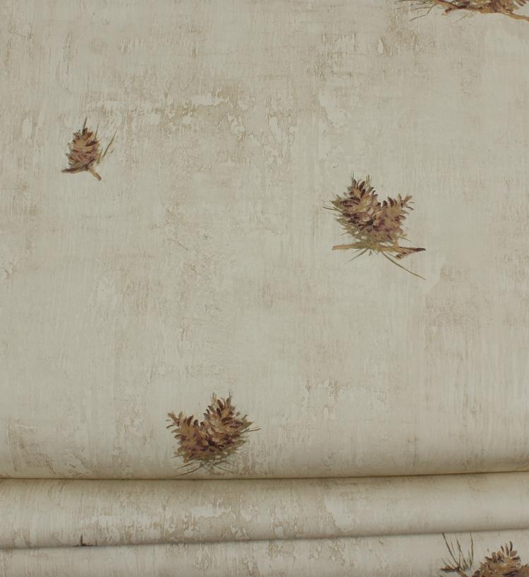美国原装进口纯纸墙纸 个性图案 抽象风格 卧室书房 储藏室壁纸